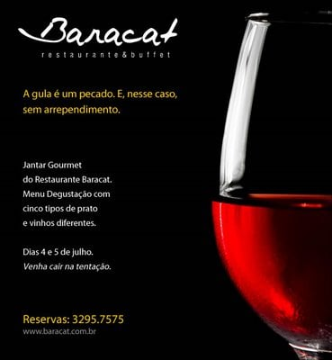 restaurante Baracat: R. Coronel Francisco Andrade Coutinho, 177, Campinas, SP