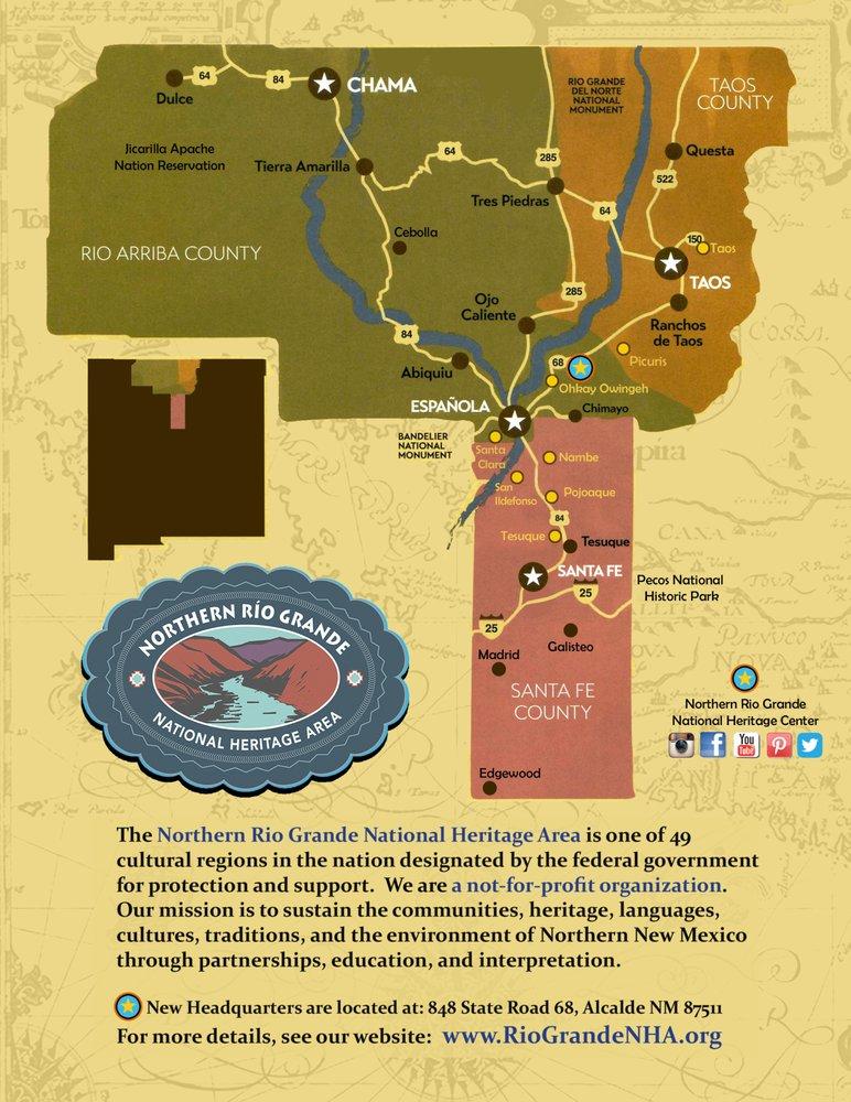 Northern Rio Grande National Heritage Center: 848 State Road 68, Alcalde, NM