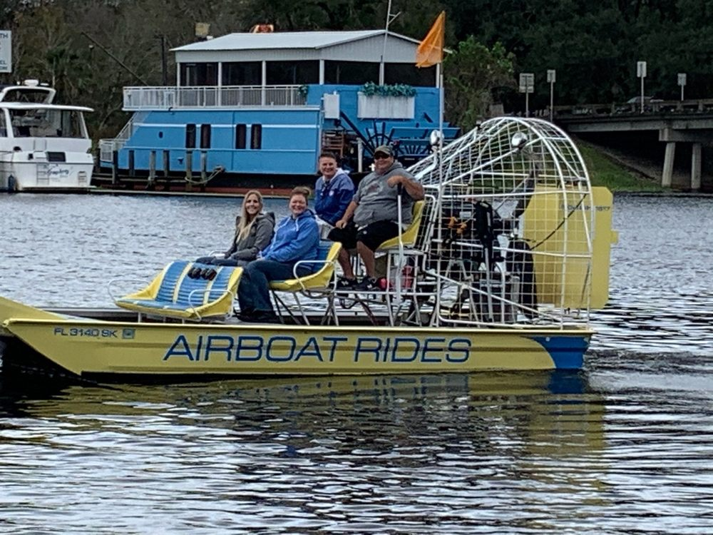 Captain Jed's Airboat Tours: 2984 Old New York Ave, DeLand, FL