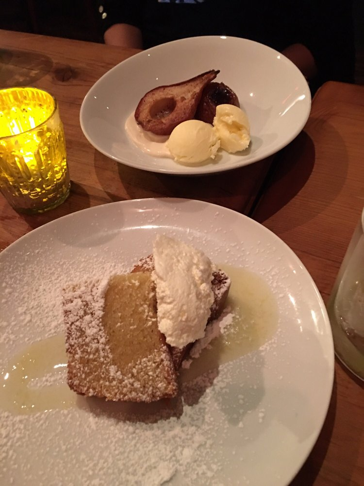 ... Goose - Buffalo, NY, United States. Olive Oil Cake and Roasted Pears
