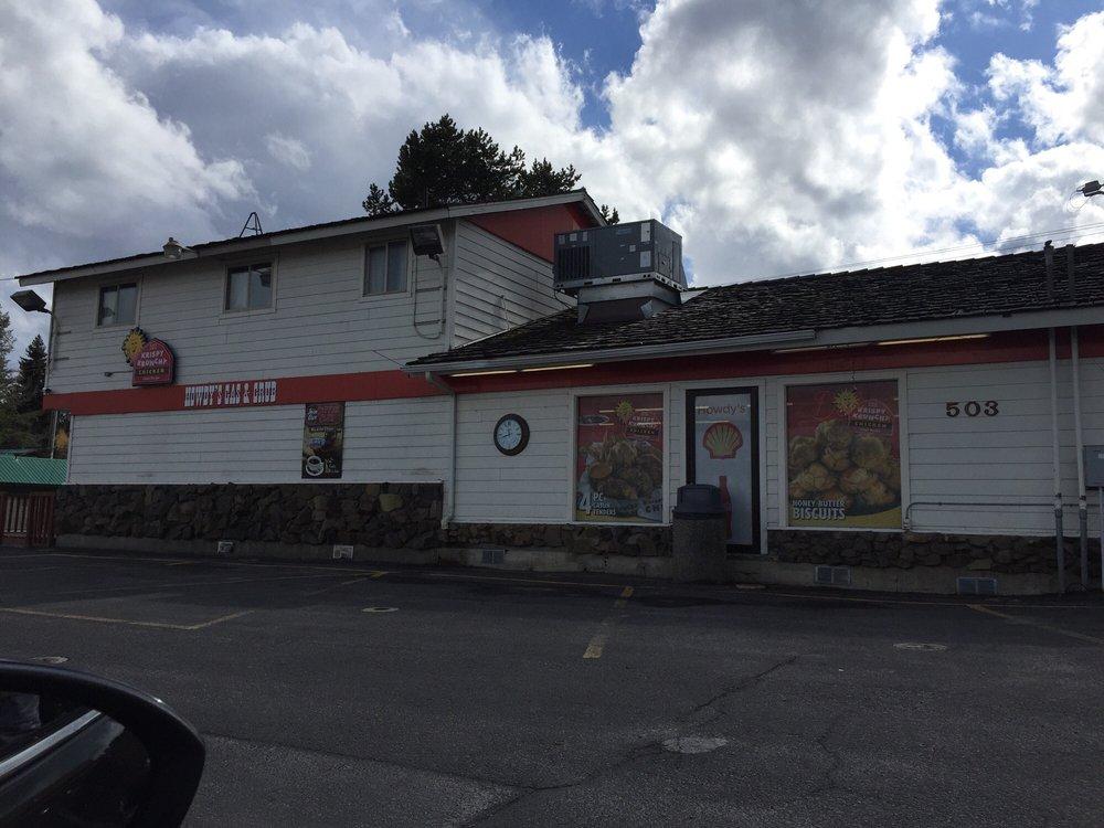 Howdy's Gas & Grub: 503 N Main, Cascade, ID