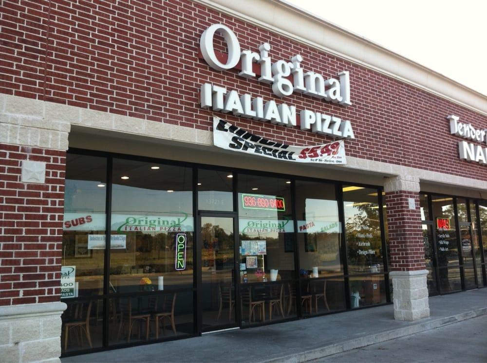 Original Italian Pizza: 13721 Fm 1097 Rd W, Willis, TX