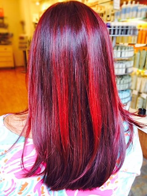 Hair color and cut by kamal yelp - Aveda salon washington dc ...