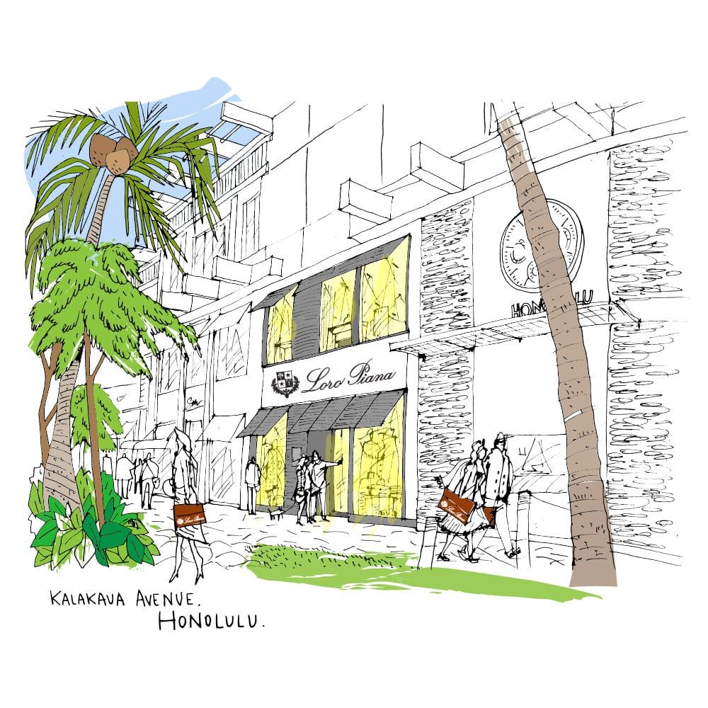 Loro Piana - Honolulu