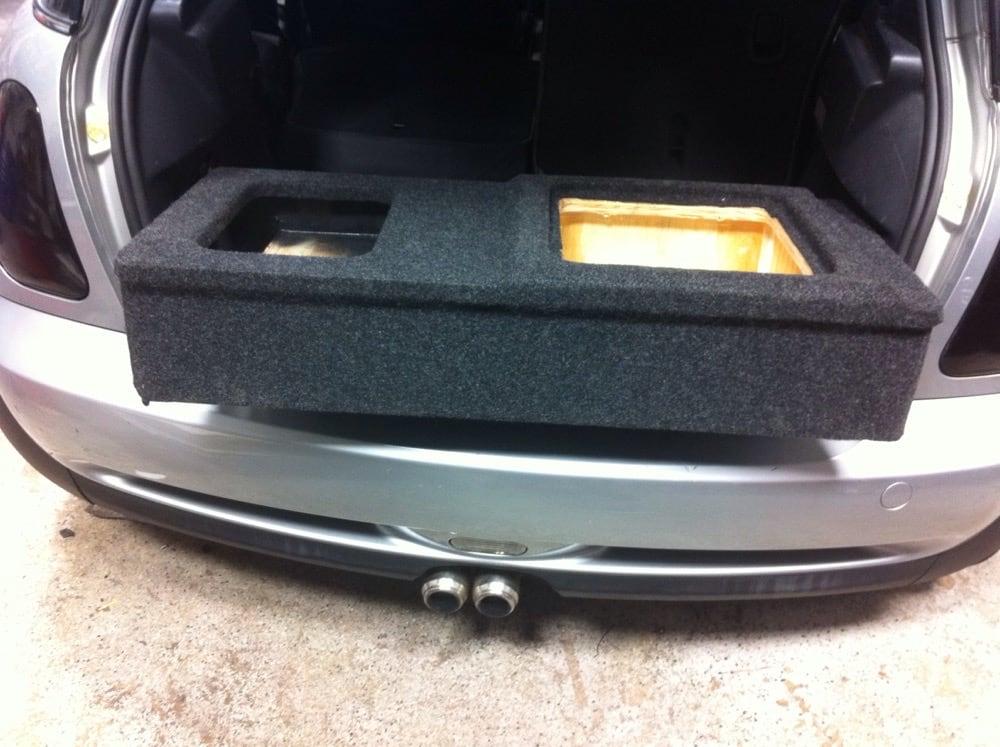 04 mini cooper custom sub amp box yelp. Black Bedroom Furniture Sets. Home Design Ideas