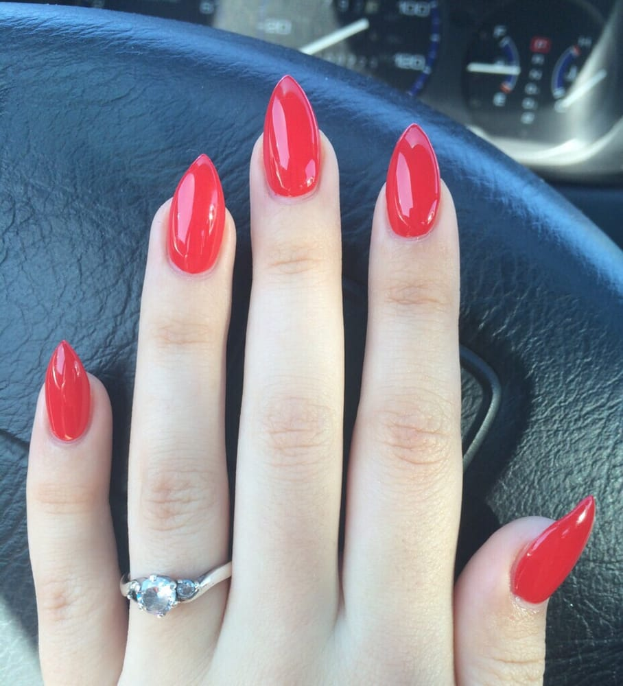 Photo Of Relax Nails Spa San Go Ca United States Red