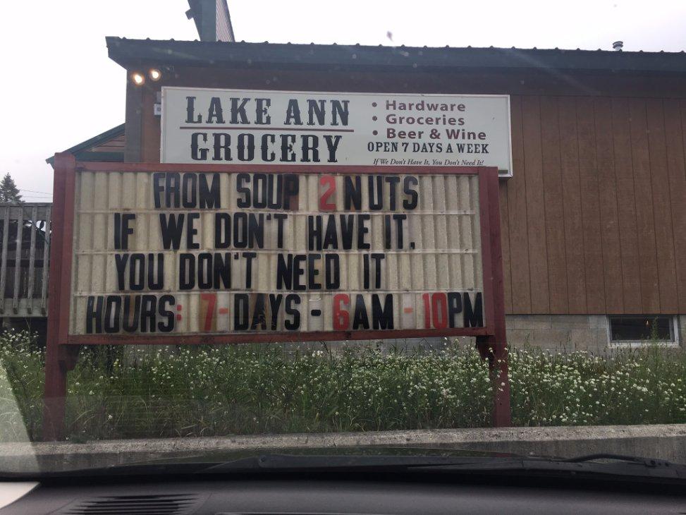 Lake Ann Grocery: 19619 Maple St, Lake Ann, MI