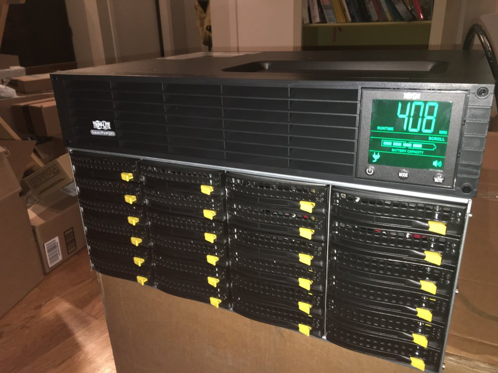96TB Freenas Server - Yelp