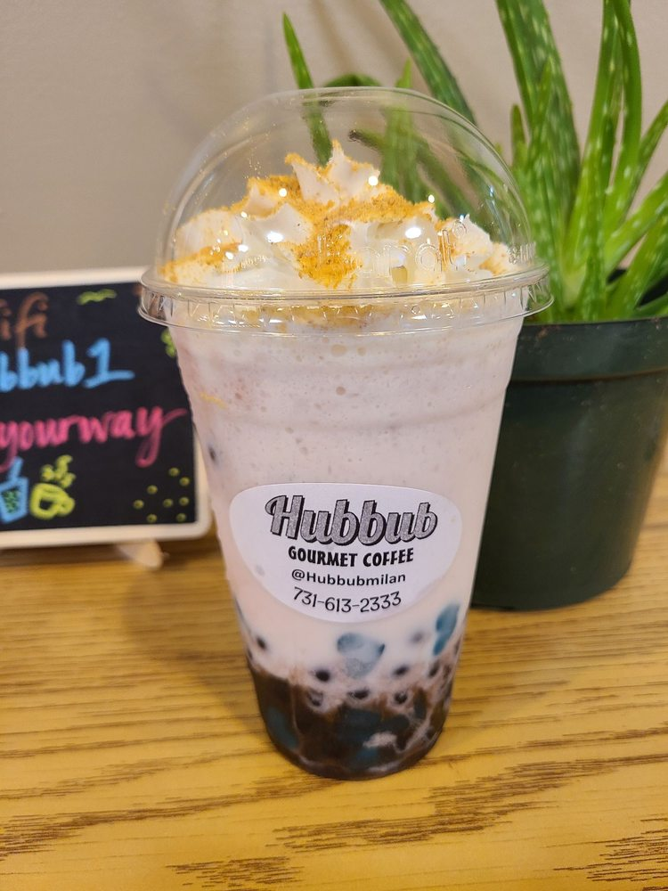 Hubbub gourmet Coffee and Boba: 4029 S 1st St, Milan, TN
