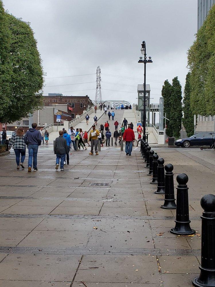 John Seigenthaler Pedestrian Bridge: Nashville, TN