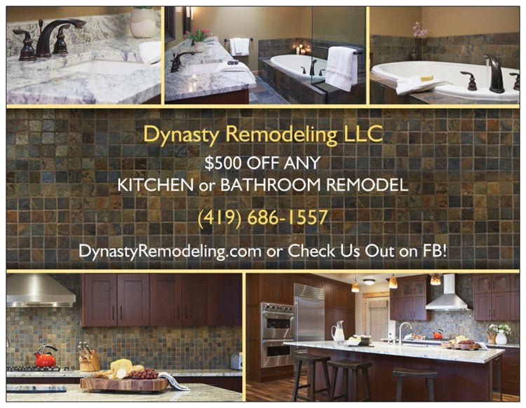 Dynasty Remodeling: 1234 N Main St, Bowling Green, OH