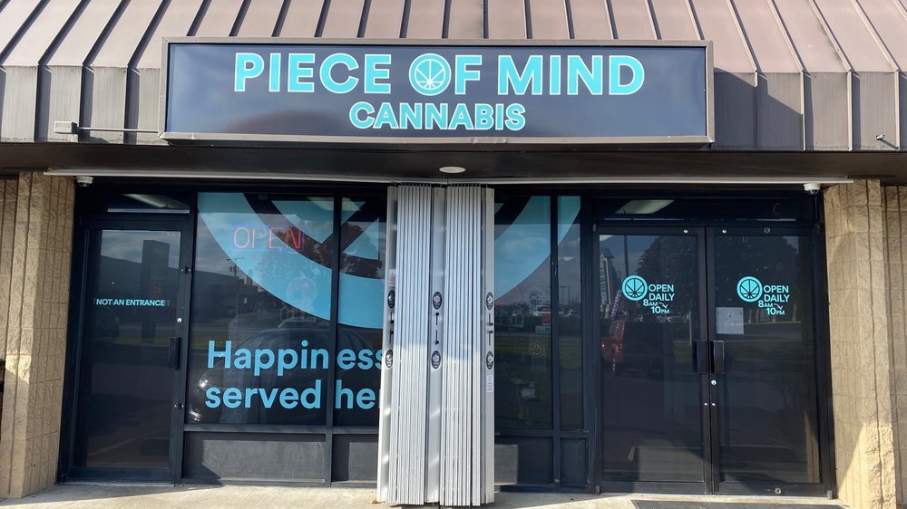 Piece of Mind Cannabis -  Spokane: 9301 N Division St, Spokane, WA