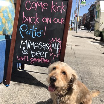 Photo Of Primo Patio Cafe   San Francisco, CA, United States. Woofles Also