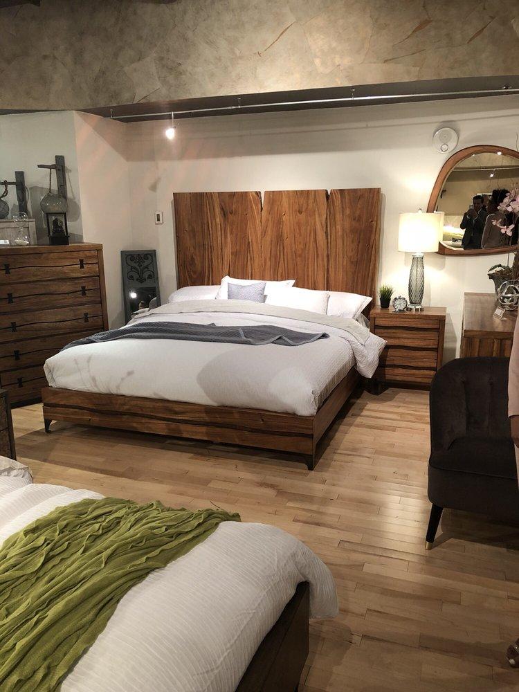 Photo Of Decor Furniture Santa Cruz Ca United States Beautiful Wood Bed