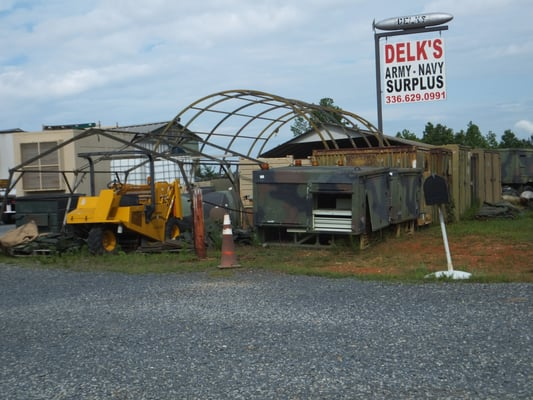 Delk's Surplus Sales 4705 US Highway 64 W Asheboro, NC