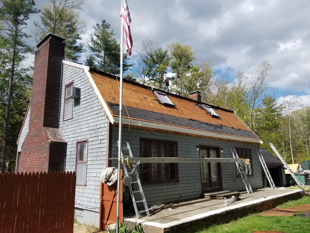 Rj's Roofing and siding: 12 Crescent St, Derry, NH