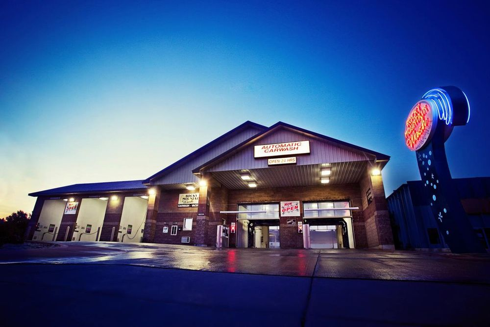 Rocky Mountain Car Wash: 2839 CY Ave, Casper, WY