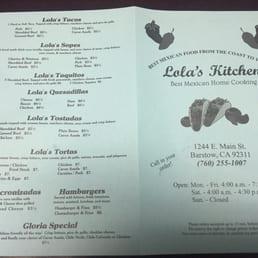 Photos for Lola\'s Kitchen | Menu - Yelp