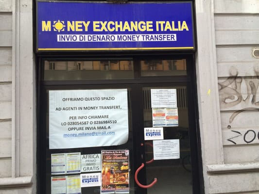 Photo Of Money Exchange Italia Milano Italy Closed Do Not Loose Your