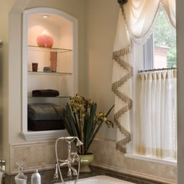 Photo of Row House Interiors  Baltimore MD United States Luxury master bath Interior Design Yelp