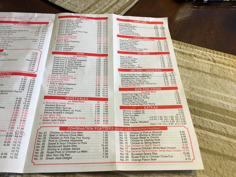 Peking Taste Staten Island Menu Arden Ave