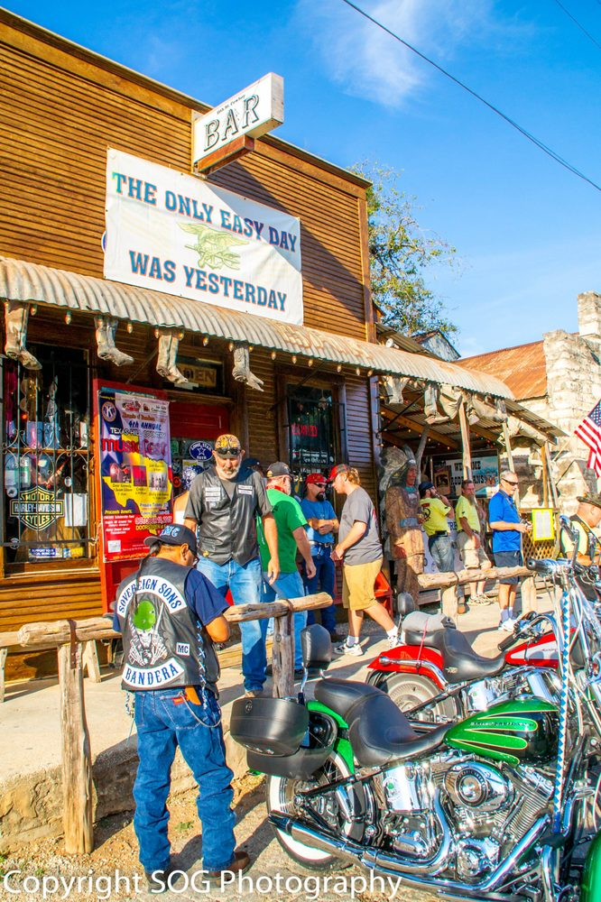 11TH Street Cowboy Bar Office: 1007 Cedar St, Bandera, TX
