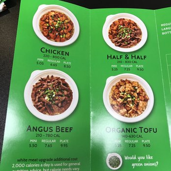 Photo Of The Flame Broiler Jacksonville Fl United States Options For Bowls