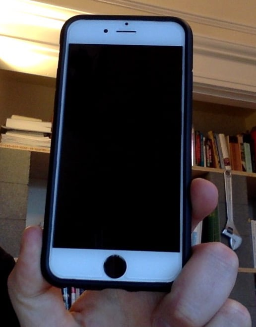 iphone repair seattle screen was totally wrecked before stoked with the repair 12221