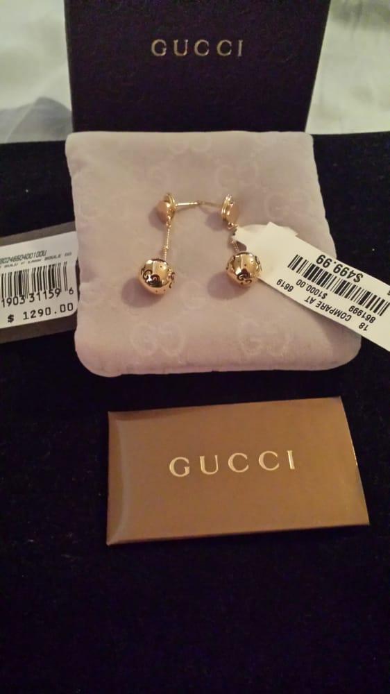 Gucci Drop Ball Earrings 18k Gold Tj Maxx 499 99