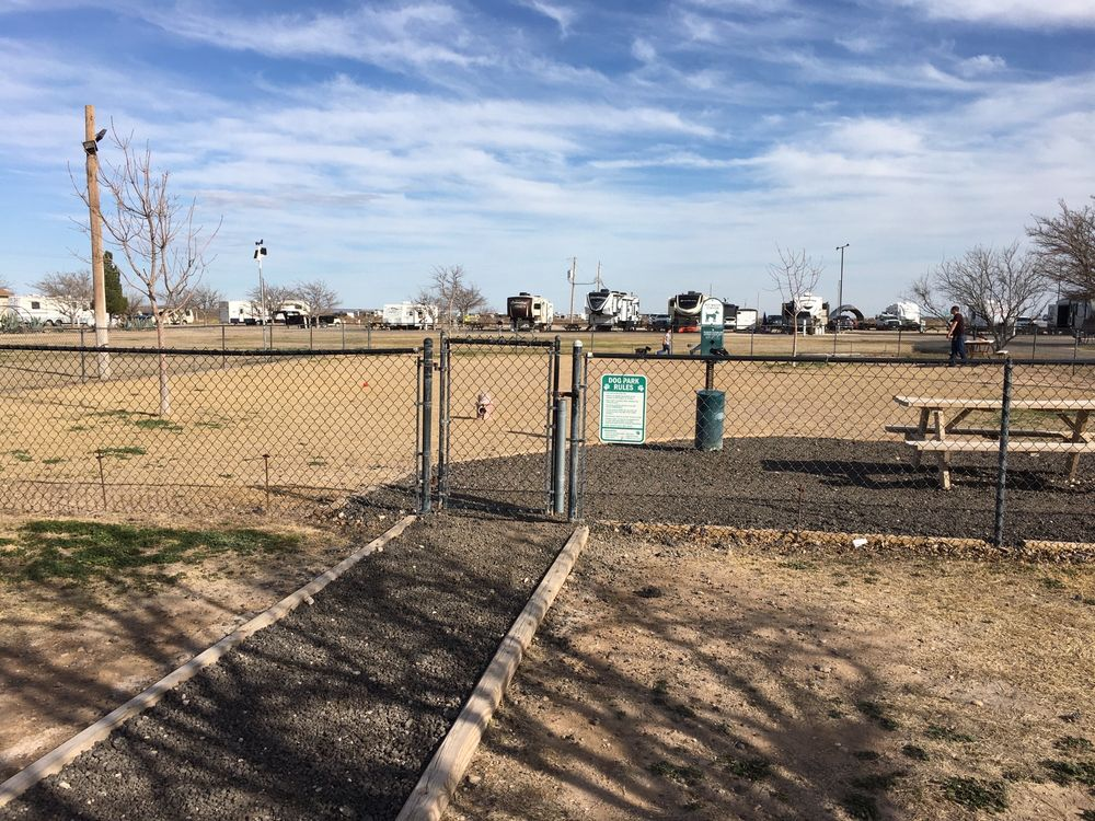 Fort Stockton RV Park: 3604 Koa Rd, Fort Stockton, TX