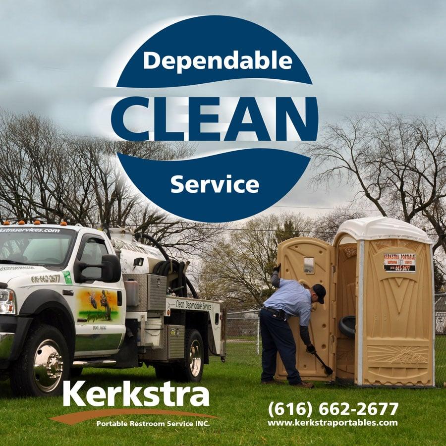 Kerkstra Portable Restroom Service: 8507 48th Ave, Hudsonville, MI