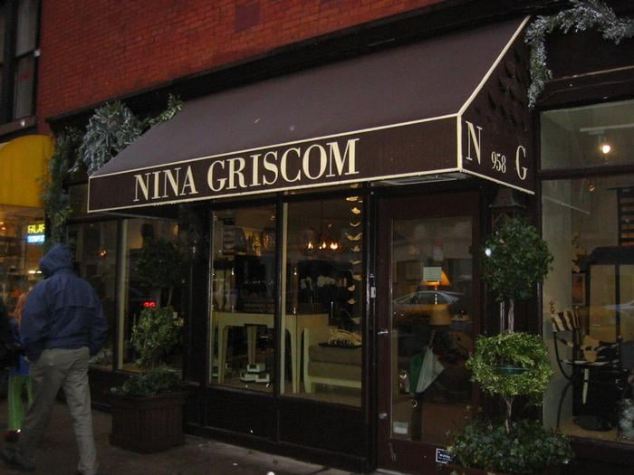 Nina Griscom Closed Home Decor 958 Lexington Avenue Upper East Side New York Ny United