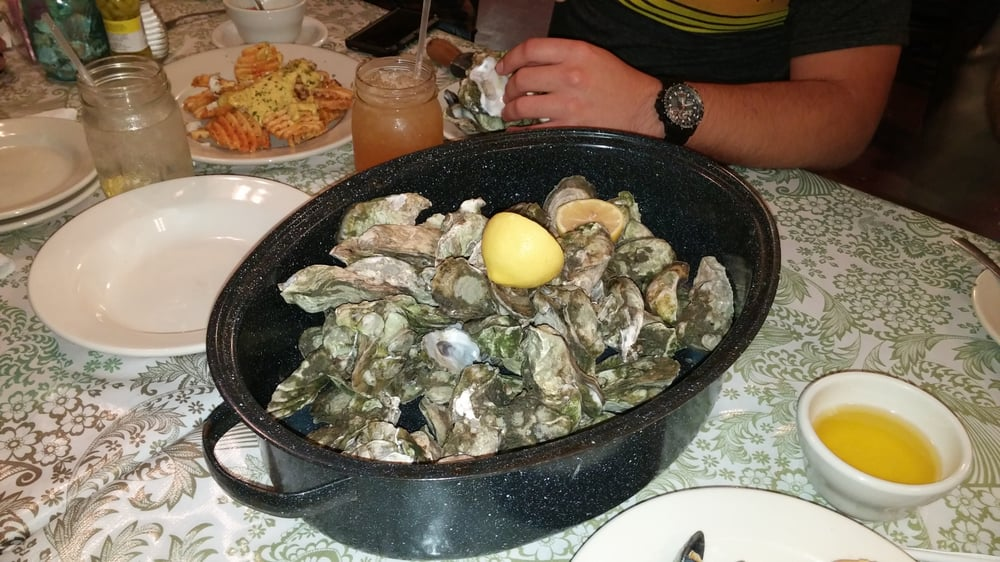 how to make steamed oysters