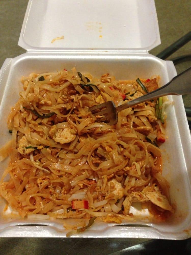 Some half eaten chicken pad thai yelp for Arlington thai cuisine