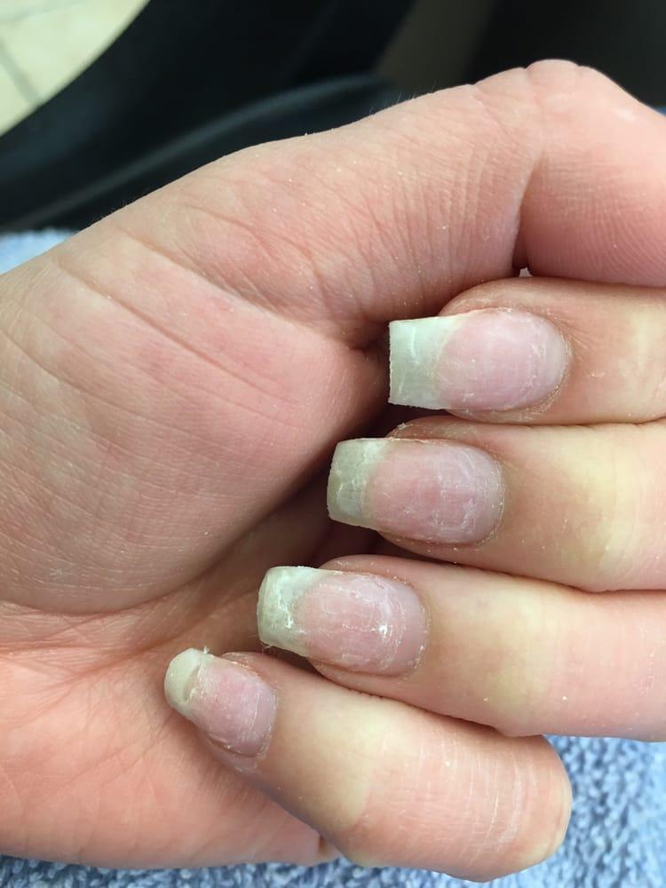 Natural nails after acrylic nail removal yelp for Acrylic nail removal salon