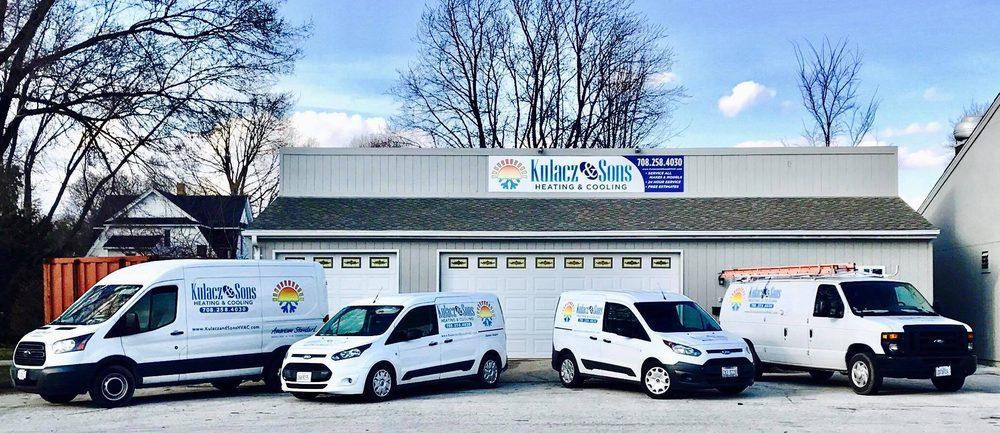 Kulacz & Sons Heating & Cooling: 640 E Broadway St, Bradley, IL