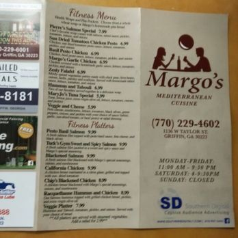 Margo S Restaurant Griffin Ga