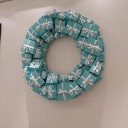 Photo of Tiffany & Company - Toronto, ON, Canada. Tiffany boxes wreath