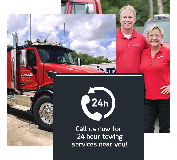 Santa Fe Tow Service: 3280 SW East US Hwy 40, Blue Springs, MO