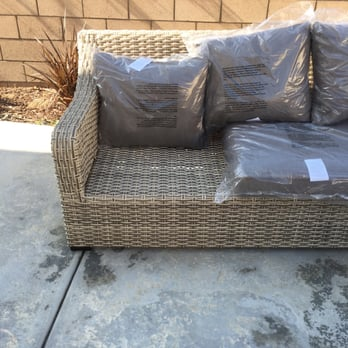 Photo Of Living Spaces   Rancho Cucamonga, CA, United States. Missing  Cushion.