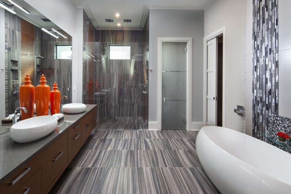 Stone and Water Bathroom Remodeling