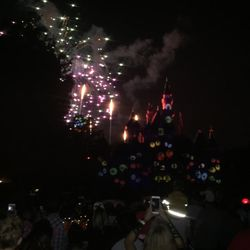 photo of halloween screams fireworks anaheim ca united states start of the