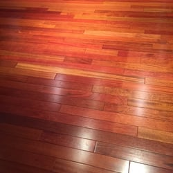 Photo Of Golden Hardwood Floor   Mill Creek, WA, United States. Brazilian  Cherry