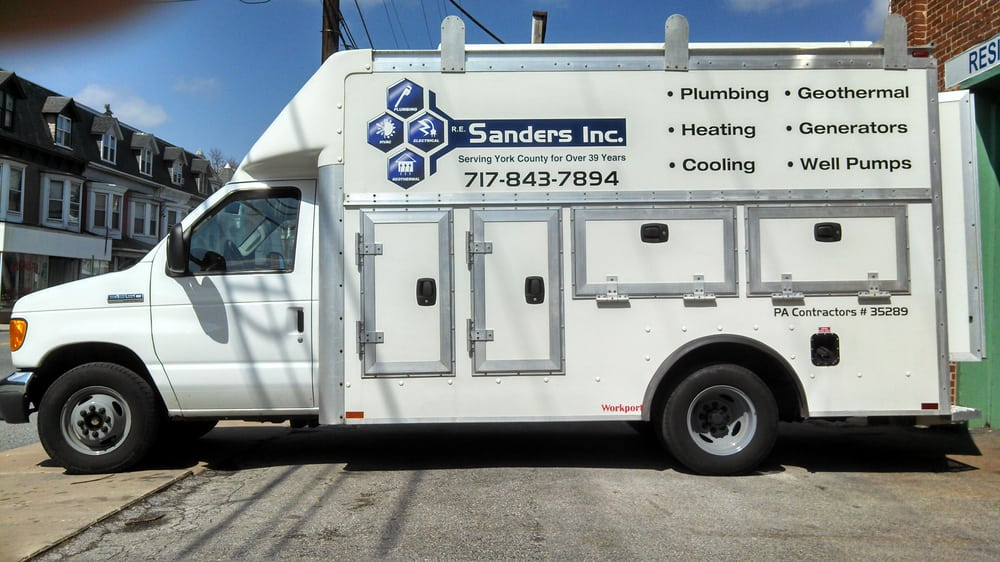 Re Sanders Plumbing 1111 N George St York Pa Phone Number Yelp