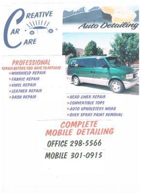 Creative Car Care Albuquerque, NM Automobile Detail & Clean