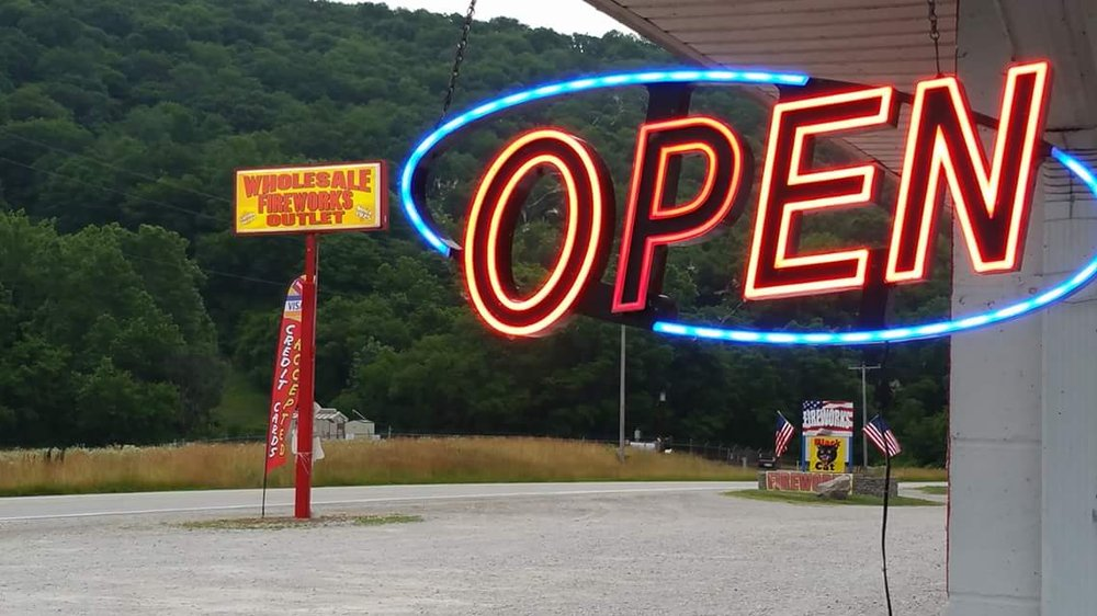 Wholesale Fireworks Outlet: 5136 US-52, Cedar Grove, IN