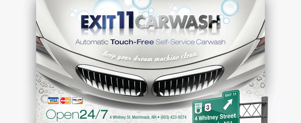 Exit 11 Car Wash: 4 Whitney St, Merrimack, NH