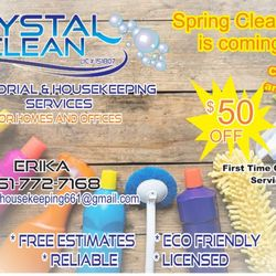 Crystal Clean Housekeeping And Janitorial Services - Office Cleaning