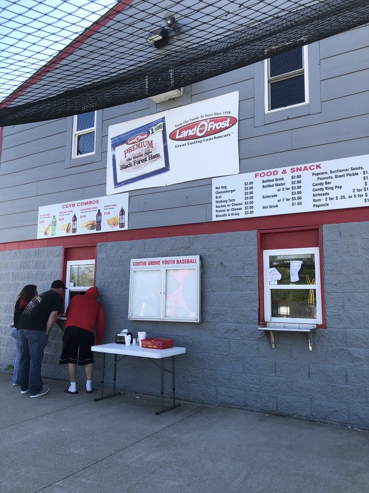 Center Grove Little League: 6250 W Smith Valley Rd, Greenwood, IN