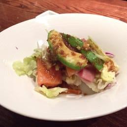 Momoyama Sushi House - Nanuet, NY, United States. Prepared just for me.. The perks of sitting at the sushi bar!